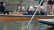 Punt it like Beckham! David and Victoria take their children for a leisurely afternoon on the river in Cambridge.<br /> <br /> It's one the of best ways to spend an afternoon in Cambridge, so the Beckhams were naturally keen to take to the waters when they paid a visit to the beautiful city on Monday for a fun-filled family outing.<br /> David and Victoria Beckham and their brood were spotted enjoying a leisurely punting trip down the River Cam as they made the most of the bank holiday weekend.<br /> And not only that but their eldest son Brooklyn, 16, even got to meet legendary physicist Professor Steven Hawking during the family day out. <br /> The 40-year-old sporting legend was in one punt with his three boys Brooklyn, Romeo, 12 and Cruz, ten, while fashion designer Victoria took another boat with three-year-old Harper.<br /> <br /> Also joining the gang on their sight-seeing visit was Victoria's family, including her lookalike sister Louise and parents Tony and Jackie Adams.<br /> ©Exclusivepix Media