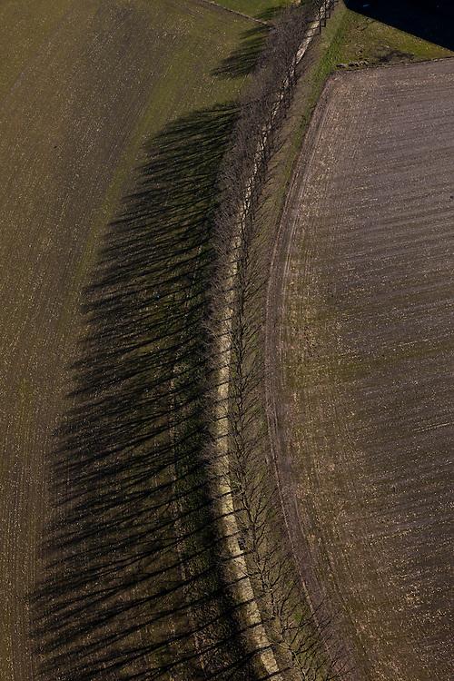 Nederland, Limburg, XXX, Noord-Brabant, 07-03-2010 ; ..luchtfoto (toeslag), aerial photo (additional fee required).foto/photo Siebe Swart