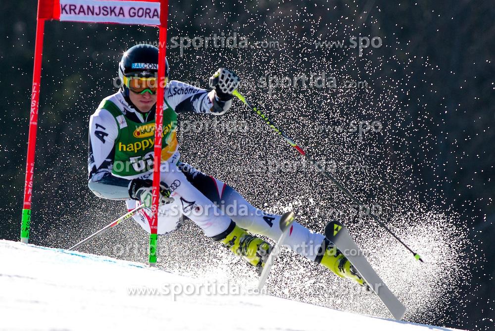 BRENNSTEINERStefan of Austria during the 1st Run of Men's Giant Slalom - Pokal Vitranc 2014 of FIS Alpine Ski World Cup 2013/2014, on March 8, 2014 in Vitranc, Kranjska Gora, Slovenia. Photo by Matic Klansek Velej / Sportida