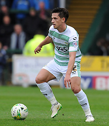 Yeovil Town's Liam Sheppard - Photo mandatory by-line: Harry Trump/JMP - Mobile: 07966 386802 - 03/04/15 - SPORT - FOOTBALL - Sky Bet League One - Yeovil Town v Chesterfield - Huish Park, Yeovil, England.