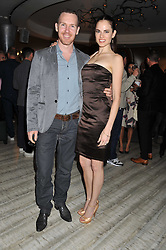 AMY BAILEY and ANTHONY GORDON at a party to launch PRPS's new luxury denim line called Noir whilst raising money for UNICEF Japan, held at Nobu Berkeley Street, London on 5th September 2011.