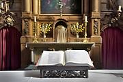 Nederland, Weert, 17-4-2018 Achter de Paterskerk ligt de kloosterkapel van het Minderbroedersklooster Sint Hieronymus . Deze is onderdeel van het zorgcentrum dat in de gebouwen is gevestigd . Foto: Flip Franssen