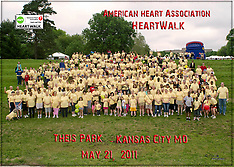 American Heart Assoc. HeartWalk 2011 - Group Photos