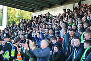 The South Stand during the EFL Sky Bet League 2 match between Forest Green Rovers and Cheltenham Town at the New Lawn, Forest Green, United Kingdom on 20 October 2018.