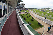 The Knavesmire prior to racing at York Racecourse, York, United Kingdom on 26 May 2018. Picture by Mick Atkins.