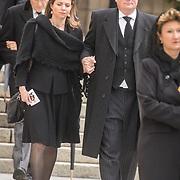 LUX/Luxemburg/20190504 - Funeral of HRH Grand Duke Jean/Uitvaart Groothertog Jean, Prins Carlos and Prinses Annemarie de Bourbon-Parme
