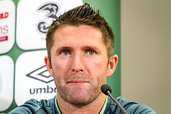 09.09.2013, Ernst Happel Stadion, Wien, AUT, FIFA WM Qualifikation, Oesterreich vs Irland, Pressekonferenz Irland, im Bild Robbie Keane// during an Irish Press Conference for the FIFA World Cup Qualifier Match between Austria (AUT) and Irland (IRL) at the Ernst Happel Stadion, Vienna, Austria on 2013/09/09. EXPA Pictures © 2013, PhotoCredit: EXPA/ Sebastian Pucher