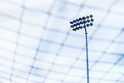 A general view of the floodlights at the Memorial Stadium  - Mandatory by-line: Ryan Hiscott/JMP - 14/08/2018 - FOOTBALL - Memorial Stadium - Bristol, England - Bristol Rovers v Crawley Town - Carabao Cup