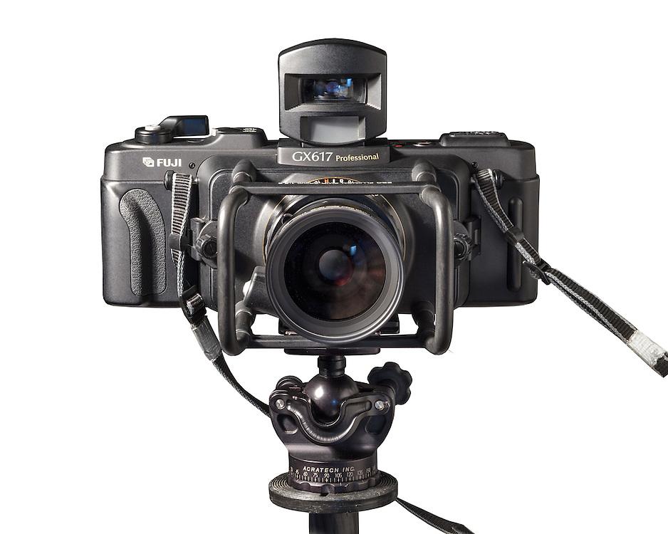 Fuji 6x17 film camera.<br /> Fine Art photos, #flow of time