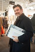 ALESSANDRO TUSSET, 2013 London Art Fair vip private view.  Business Design Centre, Upper Street, London, 15 January 2013