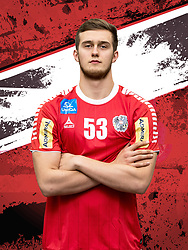 26.10.2018, Raiffeisen Sportpark, Graz, AUT, ÖHB, Fototermin Herren Nationalteam, im Bild Nikola Bilyk (AUT) // during a Portrait Photoshoot of the Austrian men' s handball National Team at the Raiffeisen Sportpark, Graz, Austria on 2018/10/26. EXPA Pictures © 2018, PhotoCredit: EXPA/ Sebastian Pucher