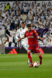 January 10, 2018 - Madrid, Spain - Real Madrid vs Numancia during Copa del Rey match in Santiago Bernabeu Stadium. The match is tie to 2-2. (Credit Image: © Alberto M. Villa/Pacific Press via ZUMA Wire)