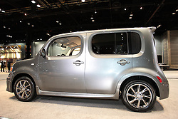 11 February 2009: 2009 Nissan Cube Krom. the Krom is powered by a 1.8-liter four-cylinder with 122 hp, which is paired with a continuously variable transmission..The 2009 Cube Krom will launch along with the rest of the Cube range in May, but pricing hasn't been released. However, Nissan has said that base Cube models will start at $13,990 plus destination costs. There will be over 40 accessories available for the Krom..The Chicago Auto Show is a charity event of the Chicago Automobile Trade Association (CATA) and is held annually at McCormick Place in Chicago Illinois.