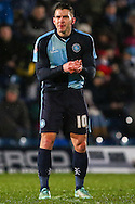Sam Wood of Wycombe Wanderers during the Sky Bet League 2 match at Adams Park, High Wycombe<br /> Picture by David Horn/Focus Images Ltd +44 7545 970036<br /> 26/12/2014