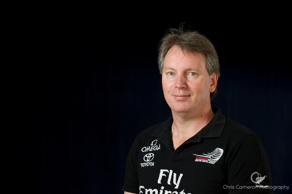 Emirates Team New Zealand America's Cup Designer Adam Greenwood. 29/3/2011