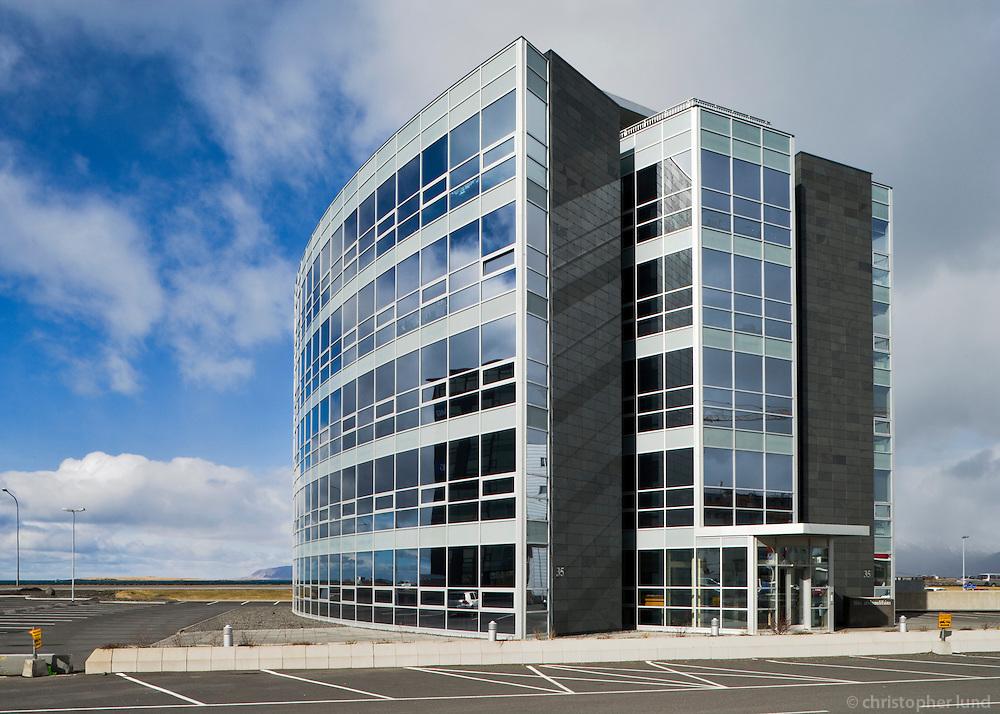 Hús atvinnulífsins við Borgartún 35, Reykjavík / Office building at Borgartun, Reykjavik.