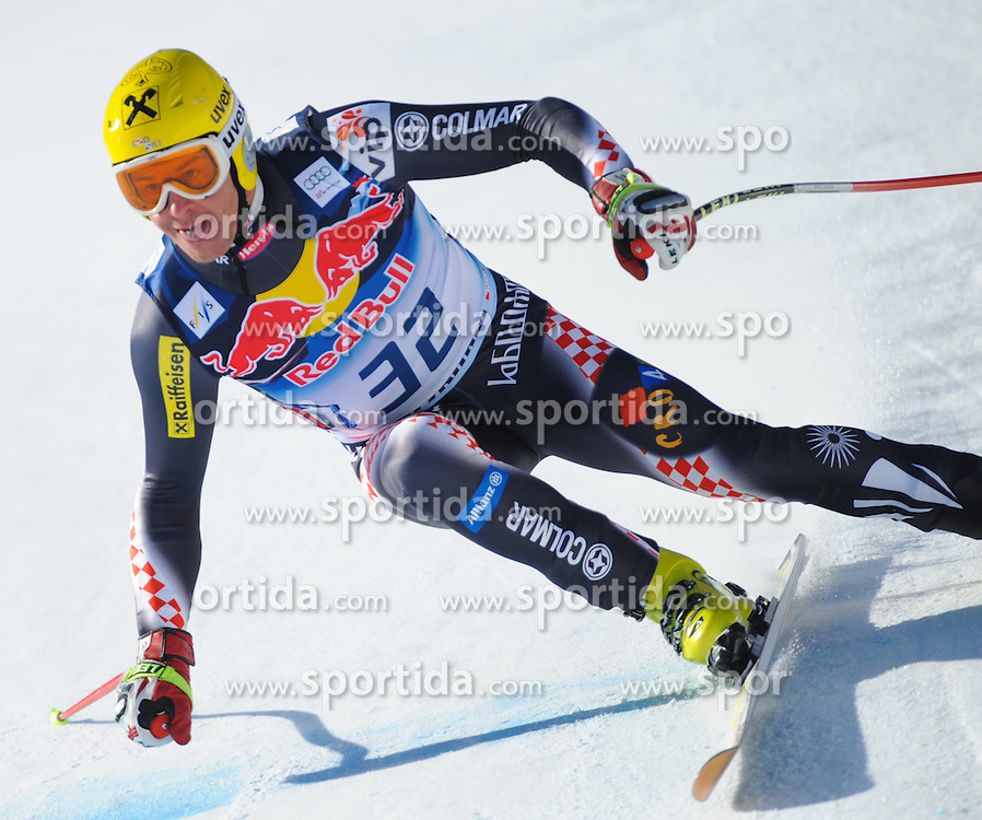 23.01.2013, Streif, Kitzbuehel, AUT, FIS Weltcup Ski Alpin, Abfahrt, Herren, 2. Training, im Bild Ivica Kostelic (CRO) // Ivica Kostelic of Croatia in action during 2nd practice of mens Downhill of the FIS Ski Alpine World Cup at the Streif course, Kitzbuehel, Austria on 2013/01/23. EXPA Pictures © 2013, PhotoCredit: EXPA/ Erich Spiess