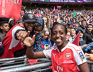 Women's FA Cup Final - Arsenal v Chelsea - 14/05/2016