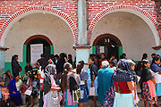 """Women wait to receive economical aid from the state government of the program """"Oportunidades"""" in Chiepetepec, Guerrero, on September 29th, 2009.  (Photo: Prometeo Lucero)"""