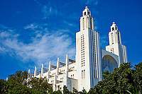 Maroc, Casablanca, Cathedrale du Sacre Coeur, 1930-1953, Paul Tournon // Morocco, Casablanca, Sacre Coeur Cathedral, 1930-1953, Paul Tournon architect