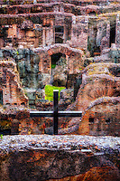 """The Holy Cross blesses the Christian martyrs of the Roman Colosseum – II""…<br />