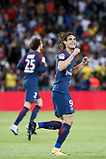 Edinson Roberto Paulo Cavani Gomez (psg) (El Matador) (El Botija) (Florestan) scored it penalty and celebrated it during the French championship L1 football match between Paris Saint-Germain (PSG) and Toulouse Football Club, on August 20, 2017, at Parc des Princes, in Paris, France - Photo Stephane Allaman / ProSportsImages / DPPI