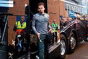 Leeds United midfielder Kalvin Phillips (23) arrives during the EFL Sky Bet Championship match between Wigan Athletic and Leeds United at the DW Stadium, Wigan, England on 17 August 2019.