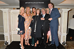 Left to right, KATHRINE FREDRIKSEN, GEORGINA COHEN, ALEX MEYERS, CHERYL COHEN, FRANK COHEN, CECILIE FREDRIKSEN and EWAN VENTERS at a the Fortnum's X Frank private view - an instore exhibition of over 60 works from Frank Cohen's collection at Fortnum & Mason, 181 Piccadilly, London on 12th September 2016.