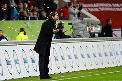 03.12.2011,Volkswagen Arena, Wolfsburg, GER, 1.FBL, VFL Wolfsburg vs 1. FSV Mainz 05, im Bild Thomas Tuchel (Trainer Mainz) steht am spielfeldrand // during the match from GER, 1.FBL,VFL Wolfsburg vs 1. FSV Mainz 05 on 2011/12/03, Volkswagen Arena, Wolfsburg, Germany..EXPA Pictures © 2011, PhotoCredit: EXPA/ nph/ Schrader..***** ATTENTION - OUT OF GER, CRO *****