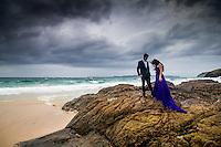 engagement shoot for sha sha hsing at otama and kuaotunu beach on the coromandel peninsula engagement photos by felicity jean photography