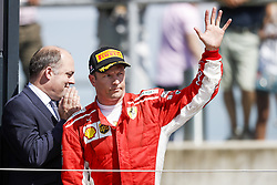 July 8, 2018 - Silverstone, Great Britain - Motorsports: FIA Formula One World Championship 2018, Grand Prix of Great Britain, .#7 Kimi Raikkonen (FIN, Scuderia Ferrari) (Credit Image: © Hoch Zwei via ZUMA Wire)