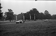 16/09/1967<br /> 09/16/1967<br /> 16 September 1967<br /> Phoenix Park Motor Racing, Kingsway Trophy Race, sponsored by Player and Wills (Ireland) Limited. Image shows H. McGarrity's M.G.B. (37) and M. Nuggets M.G.B. (38).