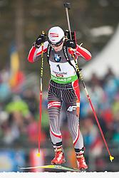 09.12.2011, Biathlonzentrum, Hochfilzen, AUT, E.ON IBU Weltcup, 2. Biathlon, Herren 10km Sprint, im Bild Agnieszka Cyl (POL) // Agnieszka Cyl of Poland during men 10km Sprint at E.ON IBU Worldcup 2th Biathlon, Hochfilzen, Austria on 2011/12/09. EXPA Pictures © 2011, PhotoCredit: EXPA/ Johann Groder