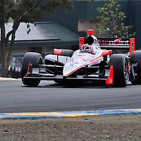 Hélio Castroneves at Indycar August 2011, Infineon Sears Point.