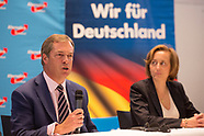 Farage at AfD event in Berlin