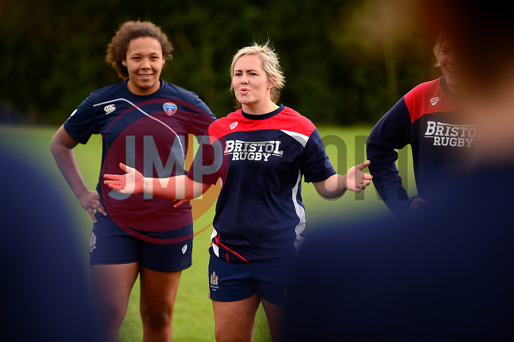 Marlie Packer of Bristol Rugby Ladies - Mandatory by-line: Dougie Allward/JMP - 09/09/2017 - FOOTBALL - Cleve RFC - Bristol, England - Bristol Rugby Ladies