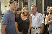 Kris Thykier, Claudia Winkleman, Eve Pollard and Sir Nick Lloyd, Book launch of 'Fashion Babylon' by Imogen Edwards-Jones and Anonymous. 43 South Molton St. London. 19 July 2006. ONE TIME USE ONLY - DO NOT ARCHIVE  © Copyright Photograph by Dafydd Jones 66 Stockwell Park Rd. London SW9 0DA Tel 020 7733 0108 www.dafjones.com