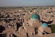 PALAWAN MAHMUD  dome YANUSH Khan , PAYANDA  mausoleum and necropolis in the old city  KHIVA  Ouzbekistan  .///.PALAWAN MAHMUD dome YANUSH Khan , et  PAYANDA mausolee   et necropole     dans la vielle ville  KHIVA  Ouzbekistan .///.OUZB56304