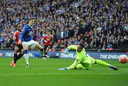 - Mandatory by-line: Alex James/JMP - 23/04/2016 - FOOTBALL - Wembley Stadium - London, England - Everton v Manchester United - The Emirates FA Cup Semi-Final