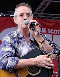 Party at the Palace, Linlithgow, Saturday 12th August 2017<br /> <br /> Stuart &quot;Woody&quot; Wood from the Bay City Rollers performs with his new band Woody's Rollercoasters on the Break Out Stage. His performance attracted some old Rollers fans to the stage.<br /> <br /> (c) Alex Todd | Edinburgh Elite media