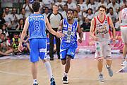DESCRIZIONE : Campionato 2014/15 Serie A Beko Dinamo Banco di Sardegna Sassari - Grissin Bon Reggio Emilia Finale Playoff Gara4<br /> GIOCATORE : Jerome Dyson Giacomo Devecchi<br /> CATEGORIA : Fair Play<br /> SQUADRA : Dinamo Banco di Sardegna Sassari<br /> EVENTO : LegaBasket Serie A Beko 2014/2015<br /> GARA : Dinamo Banco di Sardegna Sassari - Grissin Bon Reggio Emilia Finale Playoff Gara4<br /> DATA : 20/06/2015<br /> SPORT : Pallacanestro <br /> AUTORE : Agenzia Ciamillo-Castoria/L.Canu