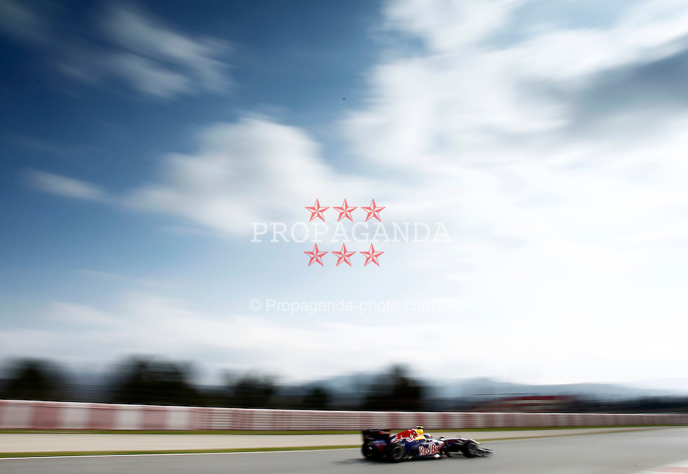 Motorsports / Formula 1: World Championship 2011, Testing in Barcelona, test, 02 Mark Webber (AUS, Red Bull Racing),