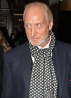 LONDON - March 25: Charles Dance at the Peter & Alice - Press Night (Photo by Brett D. Cove)