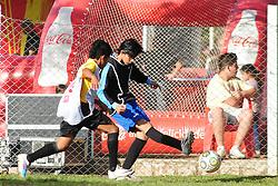 Lances da Copa Coca-Cola durante os jogos de hoje no Estadio Candido de Menezes. Porto Alegre 03/09/201. FOTO: Marcelo Campos/Preview.com
