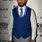 British Asain Boxer Smir Khan attend World Premiere of Team Khan - Raindance Film Festival 2018 at Vue Cinemas - Piccadilly, London, UK. 29 September 2018.