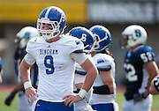 Bingham tight end Dalton Schultz looks on during the Utah State High School 5A Football semifinal between Syracuse and Bingham in Rice-Eccles Stadium, Thursday, Nov. 8, 2012.