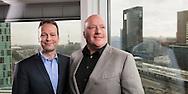 Holland8 Ton Büchner ceo Akzo (l) tesamen met Henrie van Beusekom, Executive Director Orlaco