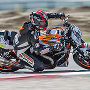 August 4, 2013 - Tooele, UT - Steve Rapp competes in Harley-Davidson XR1200 Race 1 at Miller Motorsports Park. Rapp won the race.