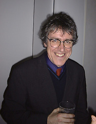 Comedian GRIFF RHYS JONES at a party on <br /> 25th January 1999.