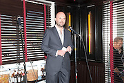 MAGNUS RENFREW, Brunch to celebrate the launch of Art HK 11. Miss Yip Chinese Cafe. Meridian ave,  Miami Beach. 3 December 2010. -DO NOT ARCHIVE-© Copyright Photograph by Dafydd Jones. 248 Clapham Rd. London SW9 0PZ. Tel 0207 820 0771. www.dafjones.com.